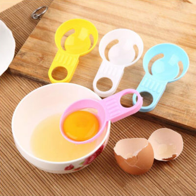 Multicolor Short Handle Egg White Separator