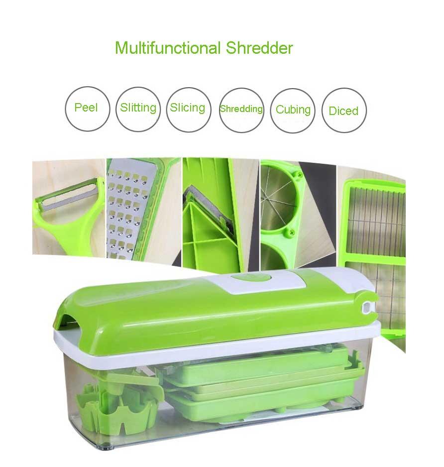Vegetable and Fruit Cutter Slicer Chopper 12pcs