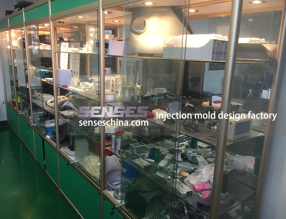 Injection mold design factory, Custom made product manufacturing - Senses