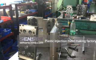 Plastic injection mold making factory