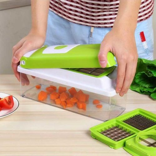 Vegetable and Fruit Cutter Slicer Chopper 12pcs