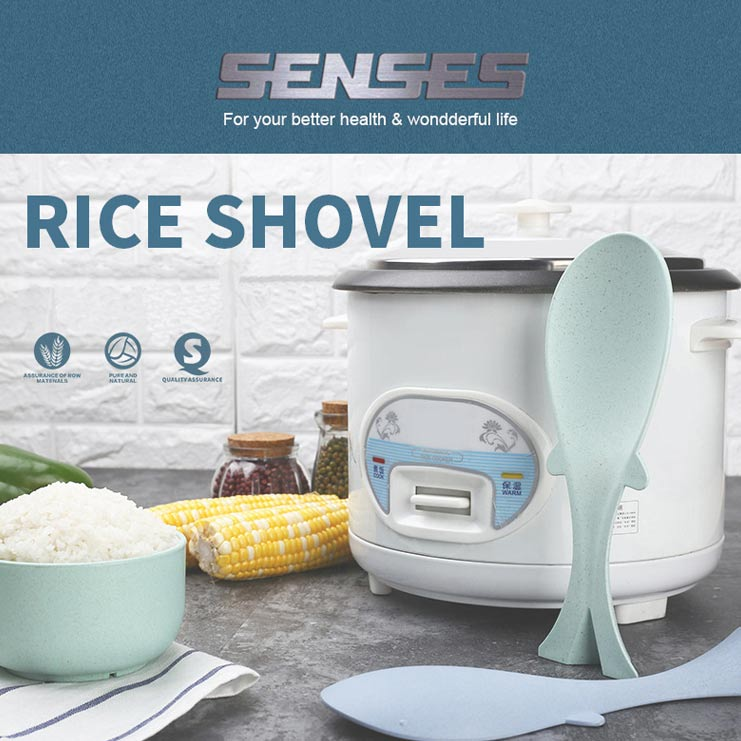 Wheat Straw Rice Spoon Rice Cooker Shovel