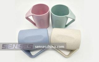 Wheat Straw Mugs supplier China, Eco-Friendly Wheat Straw Cup