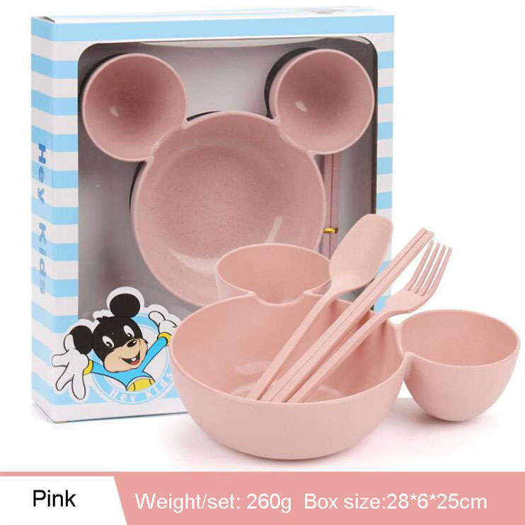 Wheat Straw Eco Friendly Healthy Bowls for Kids