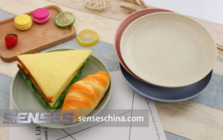 Wheat straw Healthy plate supplier
