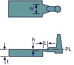 fan gate of injection mould