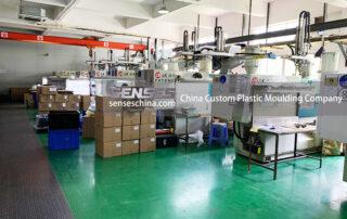 China Custom Plastic Moulding Company